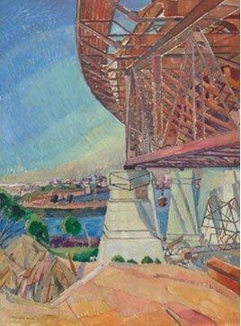 Grace Cossington Smith - The Curve of the Bridge Sydney Moderns on Artabase