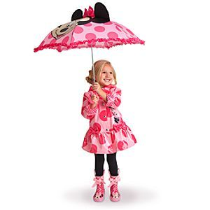 Minnie Mouse Pink Rainwear Collection Raincoat Boots