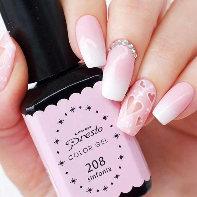 27 So Pretty Nail Art Designs For Valentines Day Eiffel Towers