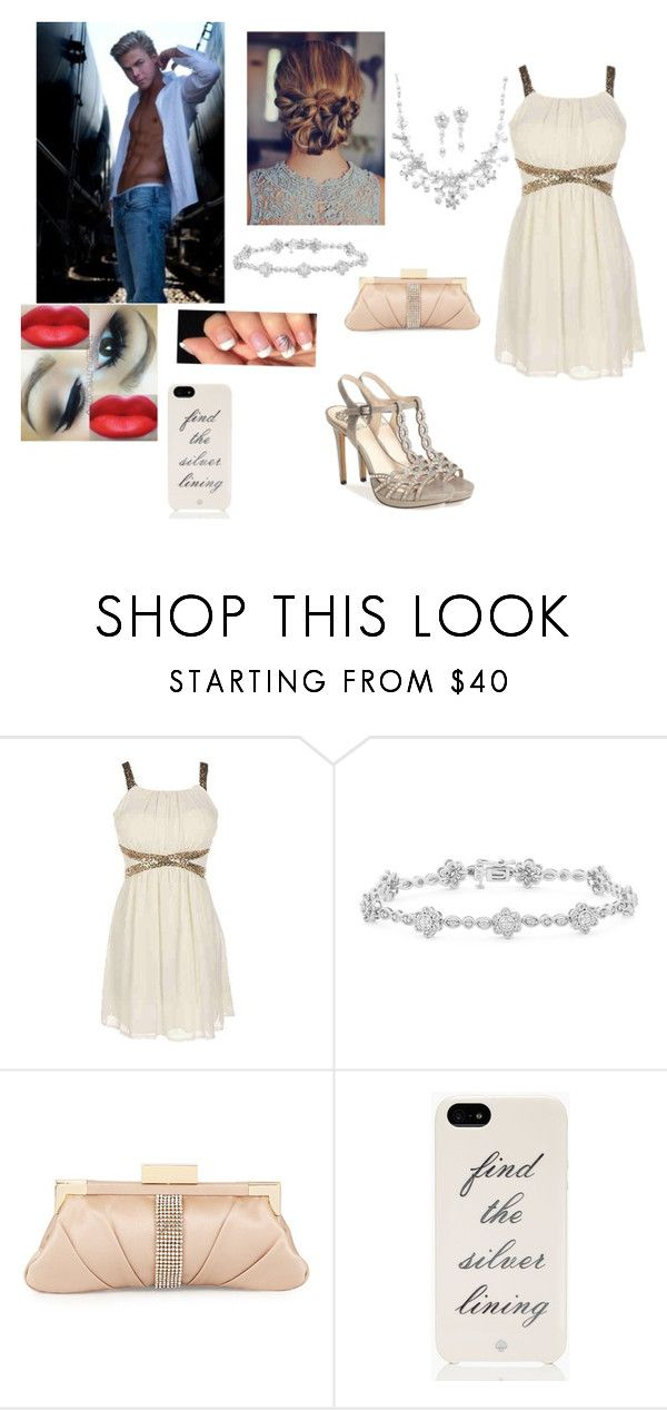 """Dancing With The Stars tonight with Derek Hough"" by cherylkinberg97 ❤ liked on Polyvore featuring Badgley Mischka, Kate Spade, Vince Camuto, dance, DWTS and DerekHough"