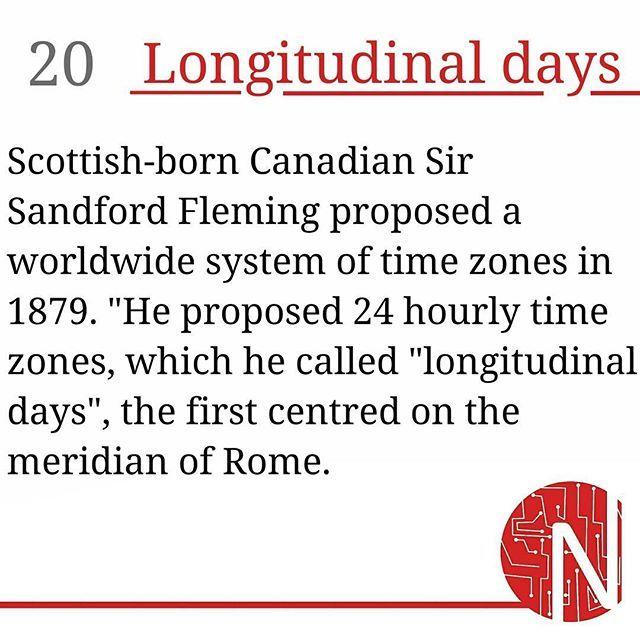 Scottish-born Canadian Sir Sandford Fleming proposed a worldwidesystem oftime ...