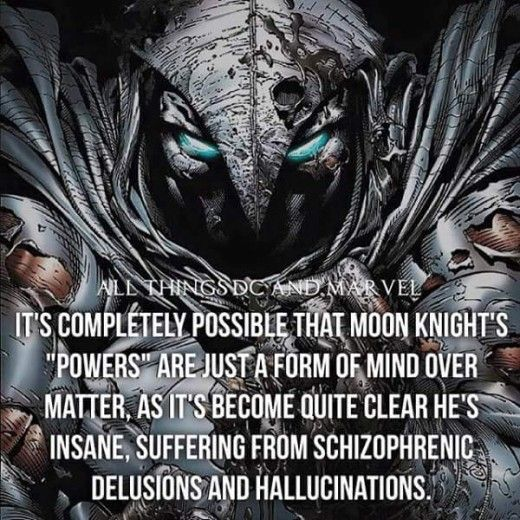 moon knight sounds more badass the more of these facts i read.