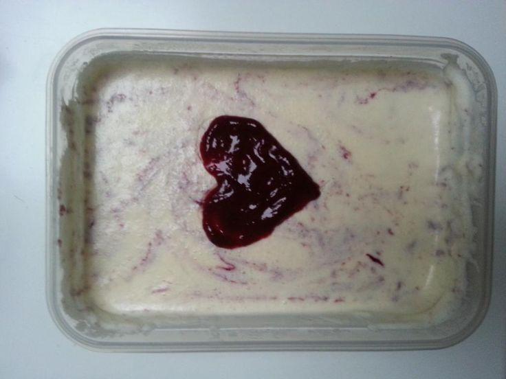 Liefde gaat door de maag: Cheesecake ijs | Groentje Gezond