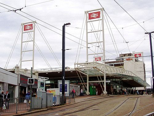 East Croydon Railway Station (ECR) in Croydon, Greater London