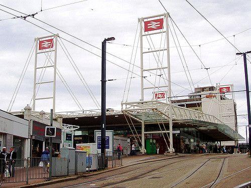 East Croydon Railway Station (ECR) in Croydon, Greater London