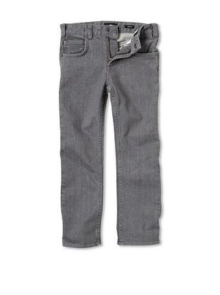 66% OFF DC Boy's 2-7 Straight Leg Jeans (Grey Rinse)