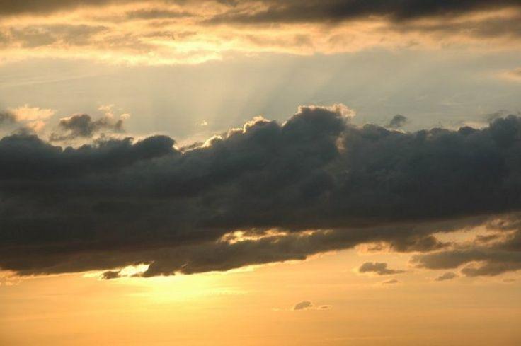 Nubes que anuncian lluvias