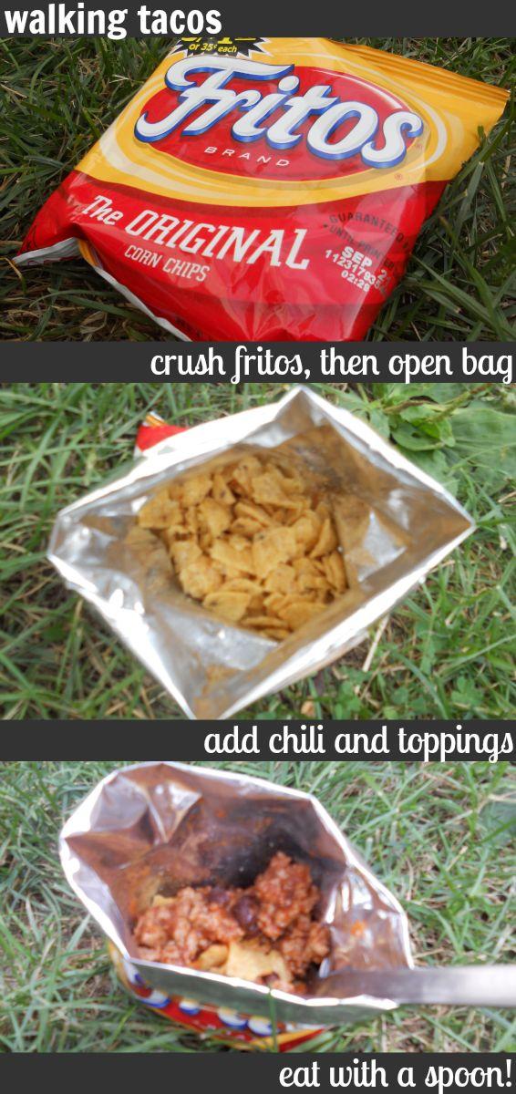 Easy Walking Tacos Using Fritos Chips Recipe Momspark