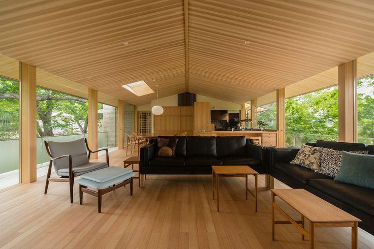 桜並木の家 (内観)|横内敏人建築設計事務所