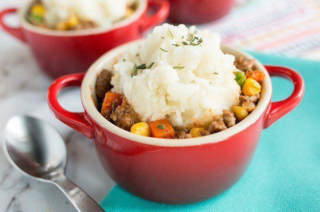 Recipe: Mini Shepherd's Pies
