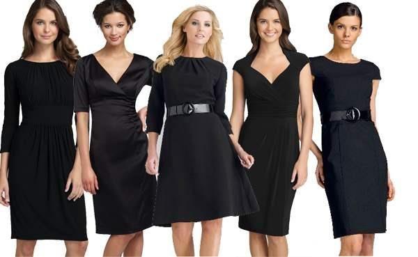 Маленькое черное платье изобрела
