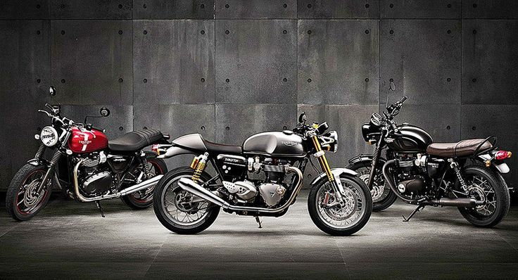 Triumph dealers report record retail success thanks to the new Bonneville family of motorcycles.