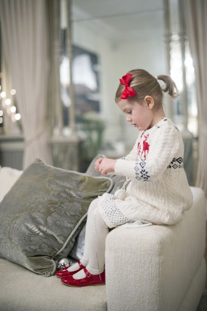 The Palace released three new photos of Princess Estelle for Christmas, along with a video of Estelle and her parents, Crown Princess Victoria and Prince Daniel, decorating the Christmas tree at their home at Haga Palace.