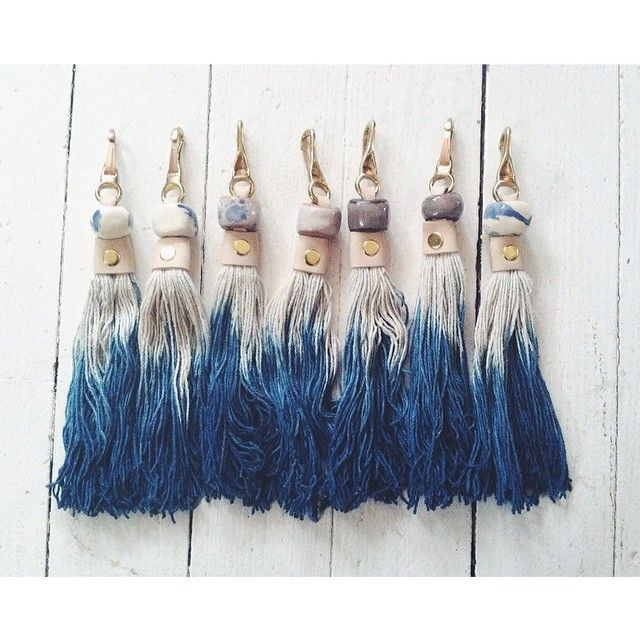 Dipped Tassel                                                                                                                                                     Mais