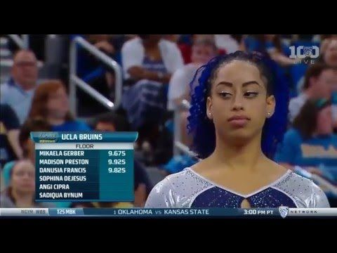 Video: UCLA Gymnast Sophina DeJesus Whips, Nae Naes And Slays : Code Switch : NPR