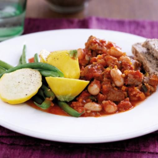 Lamb, tomato and butter bean hotpot   Australian Healthy Food Guide