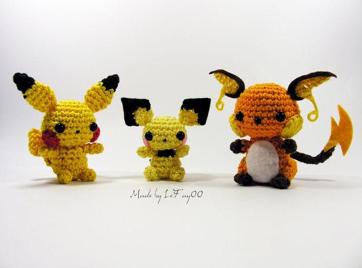 ?ber 1.000 Ideen zu ?Pichu Pikachu Raichu auf Pinterest ...
