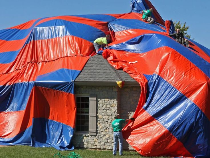 Estimates said the home with the golf course views was infested with thousands of the Brown Recluse spiders.
