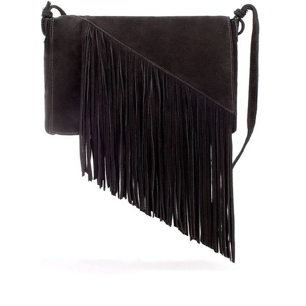 Zara Messenger Bag With Fringes On Lapel ($40) ❤ liked on Polyvore featuring bags, messenger bags, zara, handbags, shoulder bags, courier bag, zara messenger bag, cotton bags, zara shoulder bag and shoulder bag