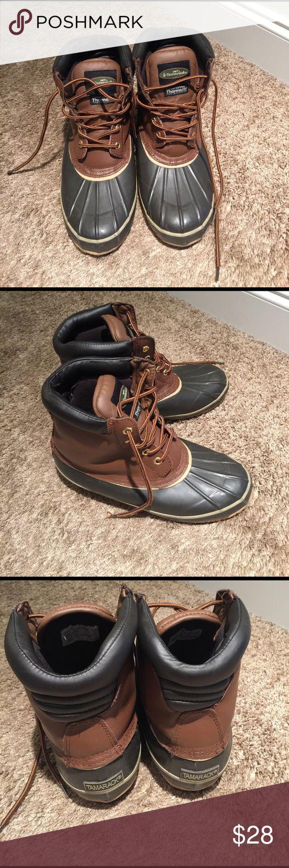 Tamarack Winter Duck Rain Boots Size 9 Thermolite Men's Tamarack Duck Boots Size 9.  These are DuPont certified Thermalite Thin Insulation Boots. Tamarack Shoes Rain & Snow Boots