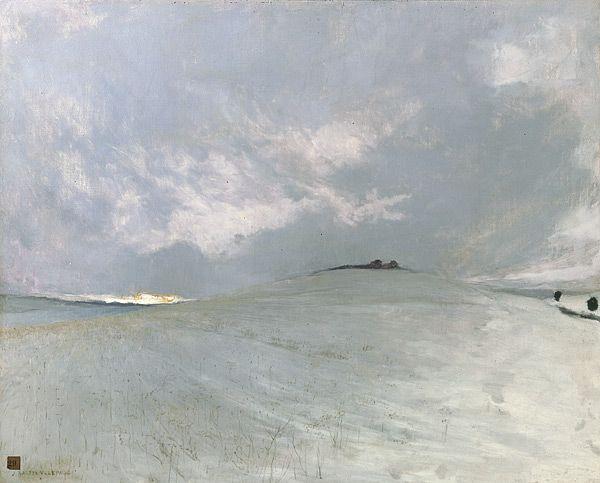 Jules Bastien-Lepage - Effet de neige (ca. 1882)