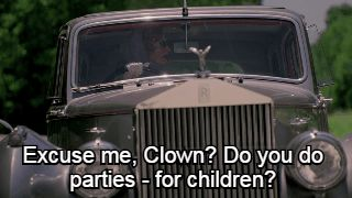 Excuse me, Clown? Do you do parties for children? American Horror Story-Freak Show
