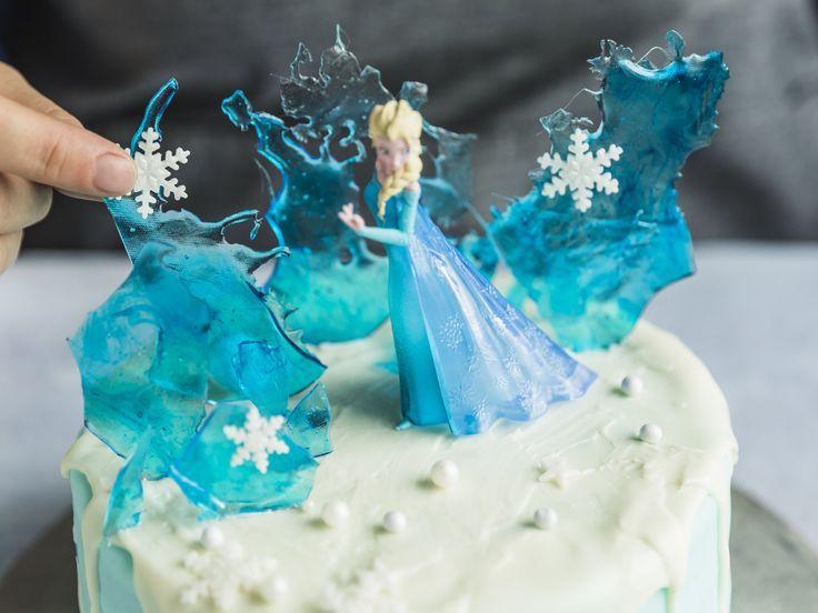 elsa-torte - eiskönigin-torte selber machen | die besten
