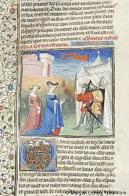 Resultat d'imatges de Miniatura de los viajes de sir john mandeville siglo XV