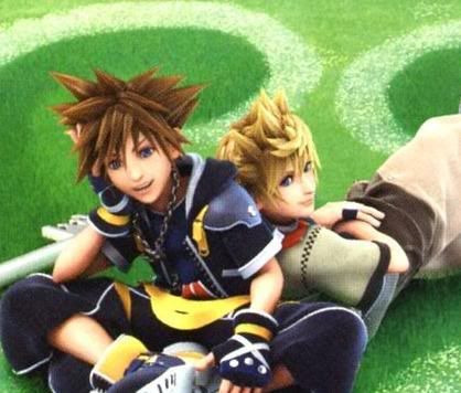 Sora and Roxas - Kingdom Hearts (KH2)