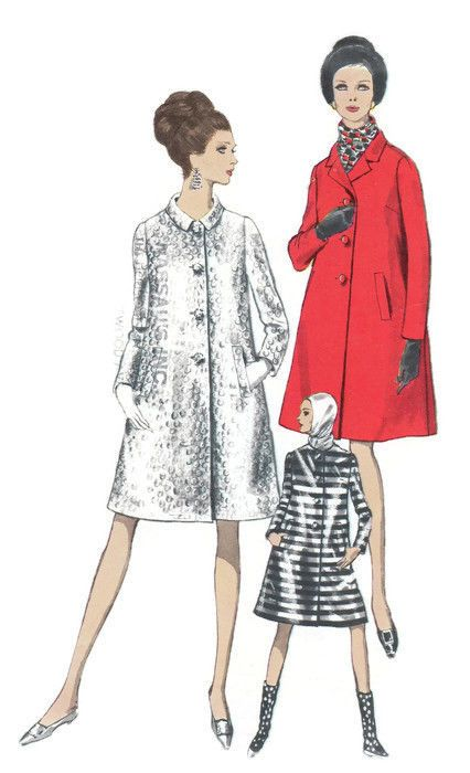 276 besten 1960s Sewing Patterns Bilder auf Pinterest