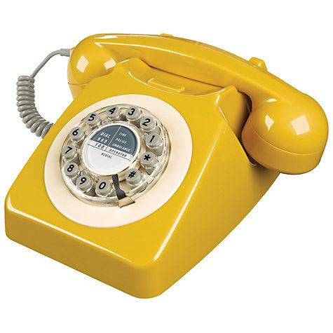 Retro Phone with an original style bell ringer