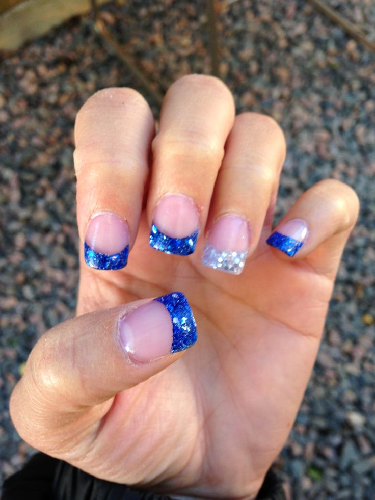 55 best dallas cowboys nail designs images on pinterest dallas dallas cowboy nails by adrienne from nail art gallery prinsesfo Image collections