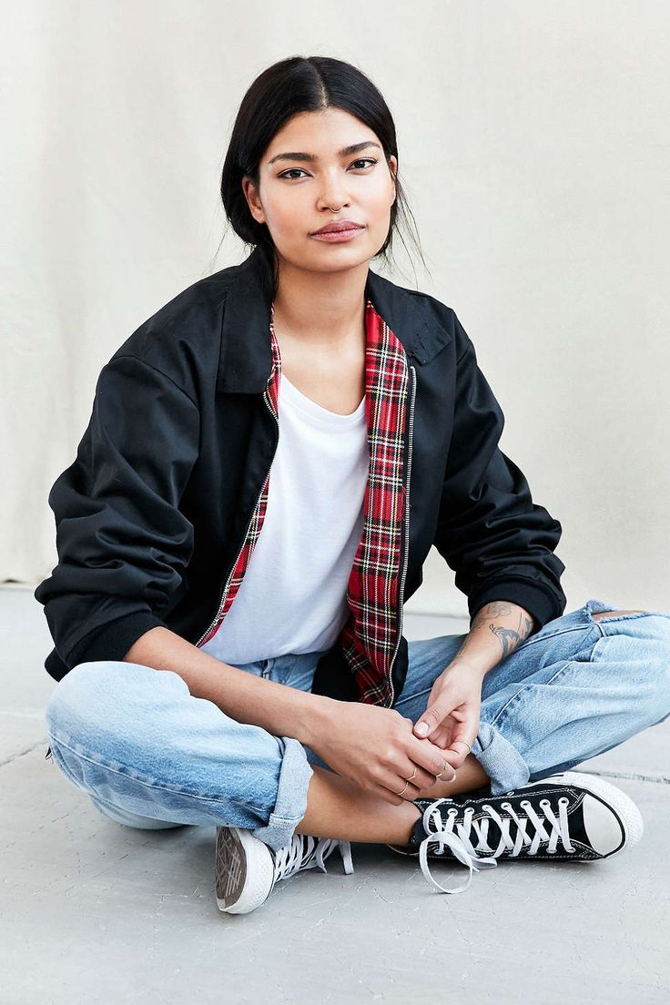 Urban Renewal Recycled Harrington Jacket - Urban Outfitters