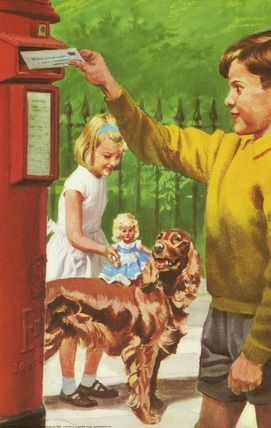 Posting a letter - Peter And Jane, Fun And Games