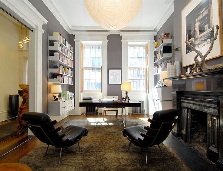 Julianne Moore's New York home, as featured in Elle Decor España.