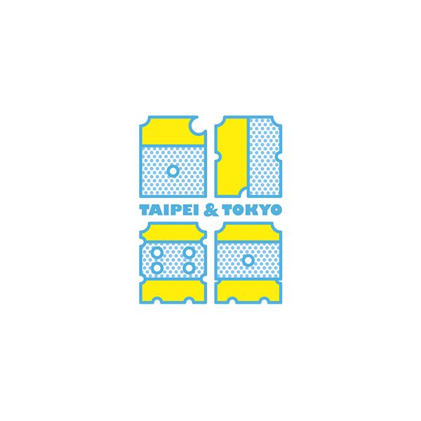 台北 東京 Taipei & Tokyo #logo #ロゴ http://www.behance.net/chengyuanchieh