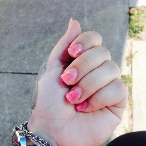 Pink Champagne Nail Polish by bluesparrowtrinkets on Etsy
