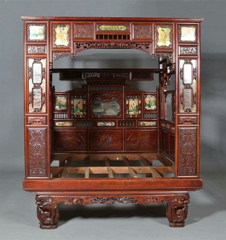 les 129 meilleures images du tableau lits chinois sur pinterest lit chinois lits et lits antiques. Black Bedroom Furniture Sets. Home Design Ideas