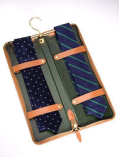 Brooks Brothers Travel Tie Keeper- what a great idea!