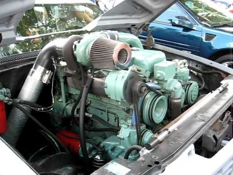 4-53 Detroit Diesel in a '89 Chevrolet C1500 - YouTube