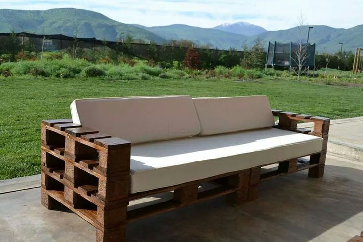 Sofa de terraza para 4 personas/www.decoup.cl/Chicureo-Chile