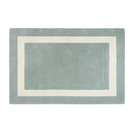 Lewes Duck Egg Blue Wool Rug