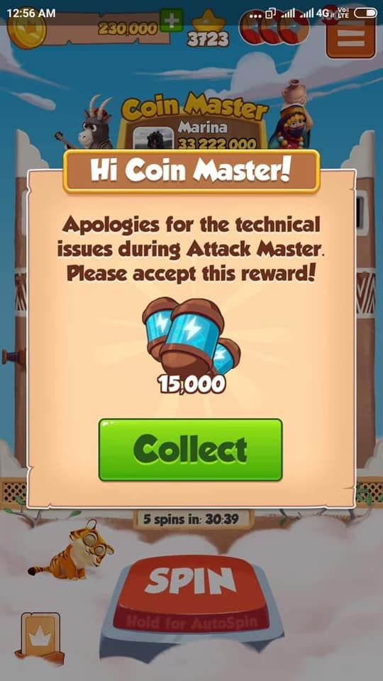 coin master rewards link march 2019