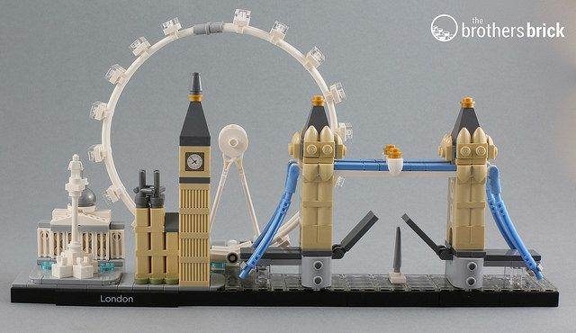 LEGO Architecture 21034 London city skyline [Review]