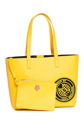 World Of Peace & Love Tote Bag by LOVE Moschino on @HauteLook
