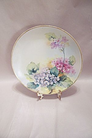 Nippon Handpainted Floral Motif Collector Plate & 134 best Collector plates images on Pinterest | Bradford exchange ...