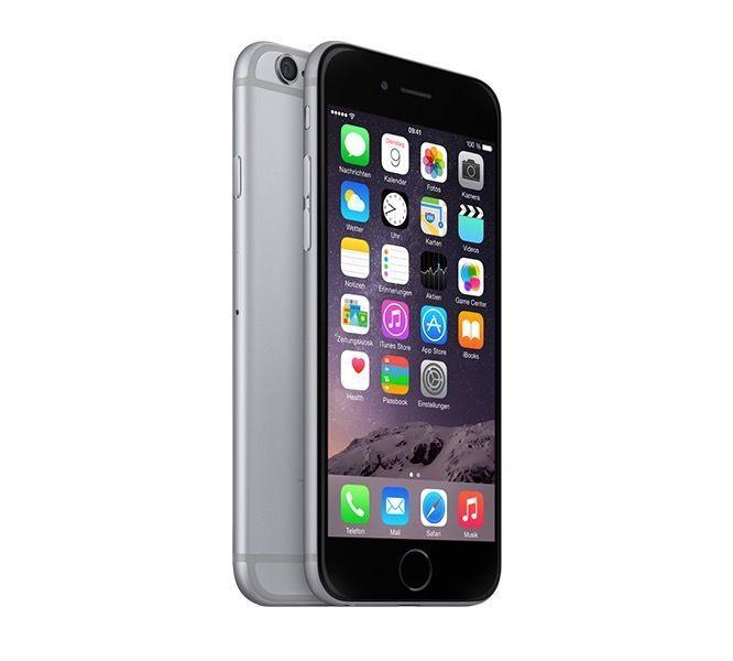 Apple iPhone 6 16GB Space Gray wie Neu in OVP Demogerätmit Panzerfolie