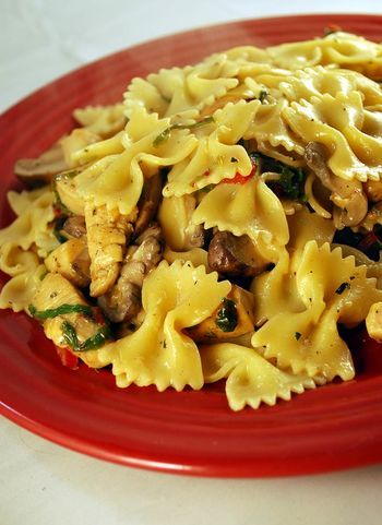 Farfalle with Red Chard and Chicken - ChefTalk.com Community