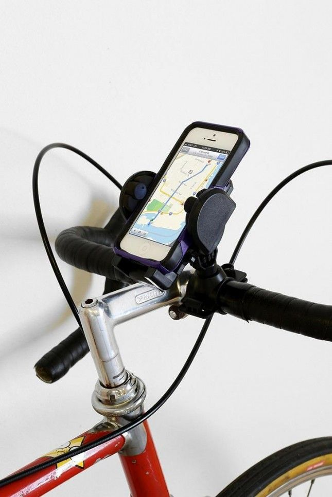 Mount your cell on your bike with this gadget.