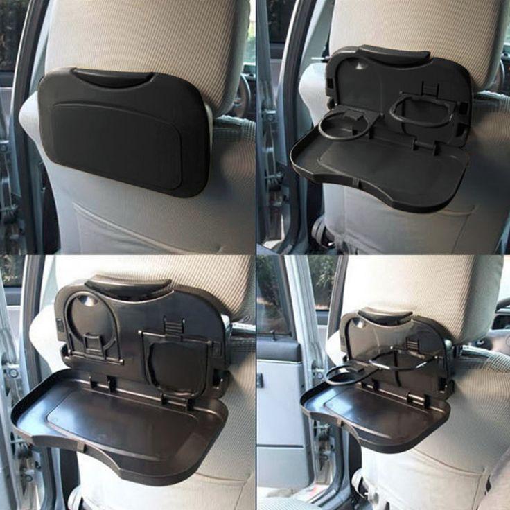 Neue 1 stücke Folding Auto Rücksitz Tisch Getränke Speisen Cup Tray Halter Stand heißer verkauf